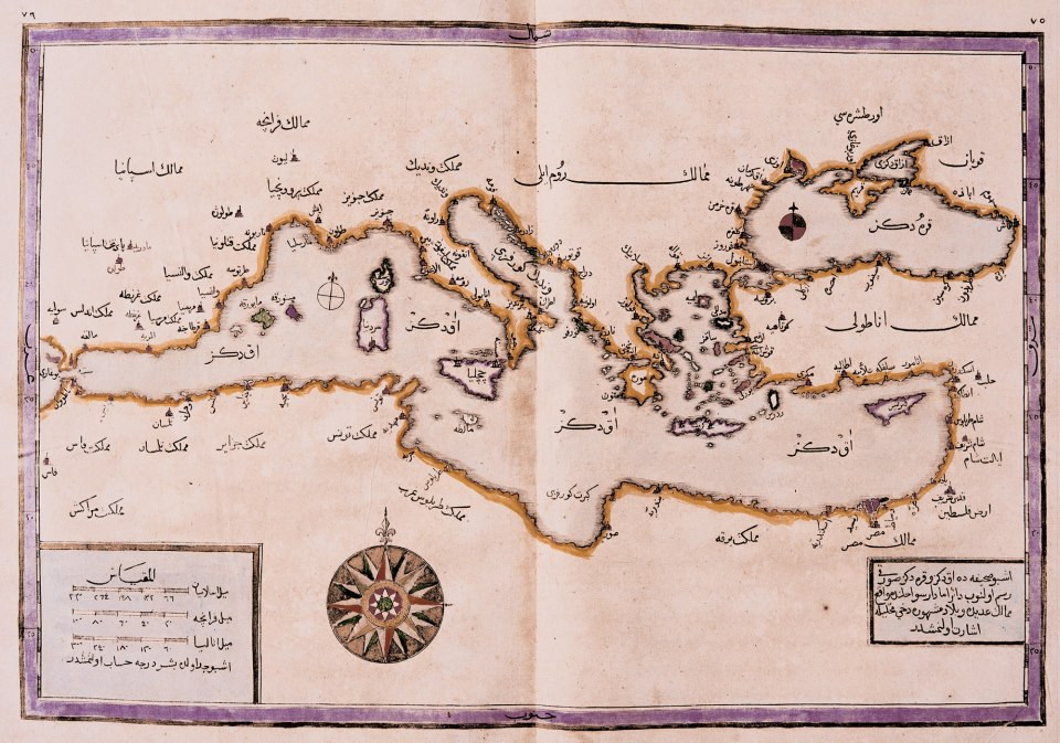 ottoman map 16th century